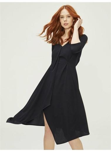 Xint Elbise Lacivert